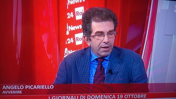 Angelo Picariello a Rainews24